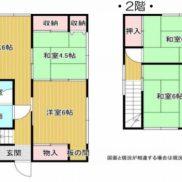 千葉県市原市 空室 土地91平米 戸建て4DK 満室時利回り 13.04%