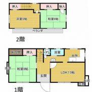 千葉県茂原市 空室 土地179.26平米 戸建て3LDK 満室時利回り 11.00%