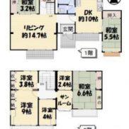 茨城県牛久市 空室 土地329平米 戸建て7LDK 満室時利回り 13.22%