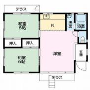 栃木県那須郡 空室 土地495平米 戸建て2LDK 満室時利回り 14.40%