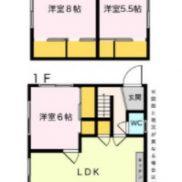 茨城県稲敷市 賃貸中 土地164平米 戸建て4LDK 満室時利回り 10.50%