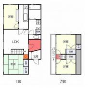 栃木県宇都宮市 空室 土地184.65平米 戸建て4LDK 満室時利回り 12.00%