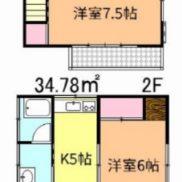 埼玉県春日部市 空室 土地68平米 戸建て4SK 満室時利回り 11.07%