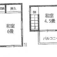 埼玉県春日部市 空室 土地52.74平米 戸建て3K 満室時利回り 12.00%