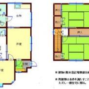 千葉県市原市 空室 土地233.75平米 戸建て4K 満室時利回り 12.00%