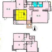 千葉県市原市 戸建て賃貸中 土地454.69平米 バス停徒歩1分 満室時利回り 10.69%