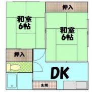 鹿児島県鹿児島市 満室稼働中 土地128.0平米 2K×4戸 満室時利回り 10.13%