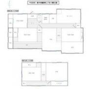 栃木県栃木市 空室 土地265.71平米 戸建て7K 満室時利回り 16.50%