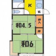 群馬県前橋市 賃貸4の3 土地182.12平米 2K×4戸 満室時利回り 11.29%