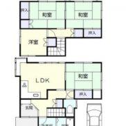 埼玉県熊谷市 空室 土地163.08平米 戸建て4LDK 満室時利回り 13.09%
