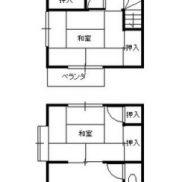 茨城県稲敷市 満室稼働中 土地156.8平米 3DK×2戸 満室時利回り 15.80%