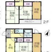 千葉県佐倉市 賃貸中 土地113.02平米 戸建て5K 満室時利回り 11.46%