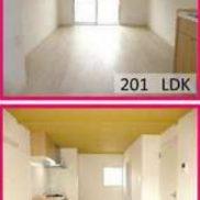 愛知県西尾市 賃貸2の1 土地146.61平米 2DK×1戸 1LDK×1戸 満室時利回り 7.26%