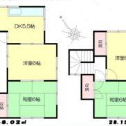 埼玉県加須市 賃貸中 土地100.03平米 戸建て4DK 満室時利回り 12.00%