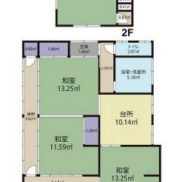 茨城県高萩市 空室 土地310.17平米 戸建て5K 満室時利回り 18.75%