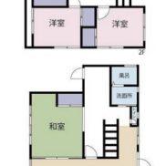 茨城県高萩市 空室 土地241.82平米 戸建て4LDK 満室時利回り 14.18%
