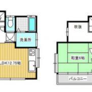 埼玉県大里郡 賃貸中 土地110.18平米 戸建て2LDK 満室時利回り 11.02%