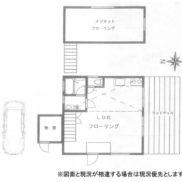 千葉県長生郡 空室 土地177平米 戸建1LDK 満室時利回り 13.44%