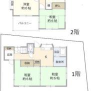 埼玉県川越市 空室 土地 111.06平米 戸建て4SK 満室時利回り 11.37%