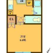 静岡県浜松市 賃貸6の5 土地240平米 1K×6戸 満室時利回り 9.30%