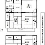福岡県北九州市 空室 土地175.76平米 戸建て4DK 満室時利回り 14.21%