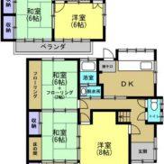 栃木県小山市 空室 土地216平米 戸建て5LDK  満室時利回り 14.40%