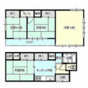 群馬県伊勢崎市 空室 土地90.24平米 戸建て4K 満室時利回り 20.00%