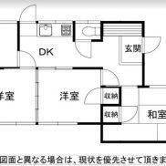 福岡県北九州市 賃貸中 土地108.91平米 戸建て3DK 満室時利回り 13.33%