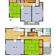 群馬県高崎市 空室 土地207.05平米 戸建て5DK 満室時利回り 11.00%